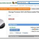 George Foreman Next Grilleration Grill For $35