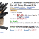 Amazon Friday Deal – J.A. Henckels 13-Piece Knife Set For $35