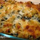 Rigatoni Spinach Pasta