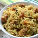 Soya Chunks Vegetable Pulao