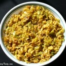 Cabbage Thoran / Curry