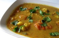 Cauliflower Thakkali Kootu – Cauliflower Tomato Curry