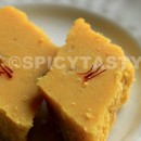 Cashew Besan Burfi (Chick pea and cashew nut Fudge)