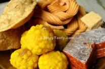 Diwali Sweets and Savories