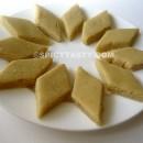 Kaju Katli – Cashew nut Burfi