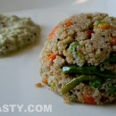 Godhuma Rava Upma / Cracked Wheat Upma