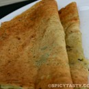 Pudhina Adai / Mint and Lentil Crepe