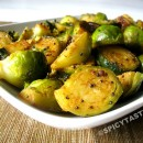 Simple Brussels Sprouts Fry