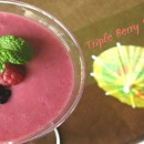 Triple Berry Smoothie
