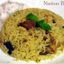 Simple Mutton Biryani