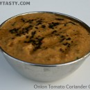Onion Tomato and Coriander Chutney