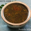 Poondu Milagu Rasam / Spicy Pepper Garlic Soup