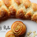 Braided Coffee Cake and Mini Rolls
