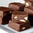 Easy Chocolate Fudge with Nuts