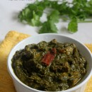 Palak (Spinach) Chicken Curry