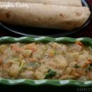White Pumpkin Gravy / Ash Gourd Gravy for Rotis