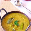 Kathirikkai Avarakkai Murungakkai Sambar – Mixed Vegetable Sambar