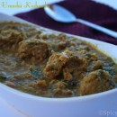 Soy Chunks Uruandai Kuzhambu / Soy Chunks Balls in Spicy Curry
