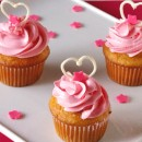 Strawberry Cupcakes – Valentine's Day Special