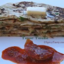 Paneer Paratha / Cottage Cheese Stuffed Flatbread