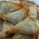 Spanakopita / Greek Spinach Pie (Step by Step Procedure)