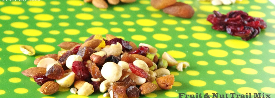 Trail Mix &#8211; Fruits and Nuts