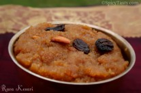 Rava Kesari with Jaggery
