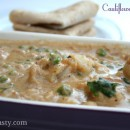 Cauliflower Korma / Cauliflower in Cashew and Coconut Milk Gravy