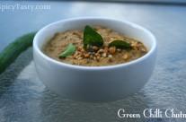 Spicy Green Chilli Chutney