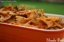 Indian Style Pasta / Spicy Masala Pasta
