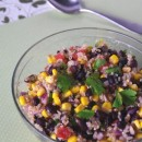 Quinoa Salad with Corn and Beans