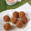 Fried Oat Balls (from left over pongal)