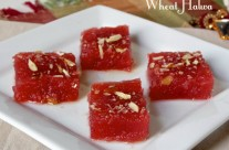 Easy Wheat Halwa