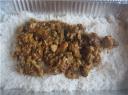 Step 11 : Layered Rice and Gravy