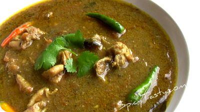 Spicy Chicken Kuzhambhu