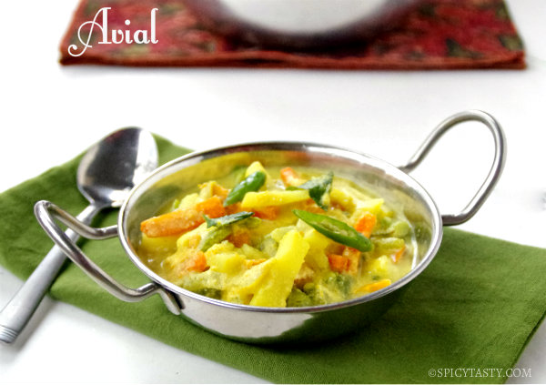Aviyal, Indian Vegetable Stew Recipe — Dishmaps