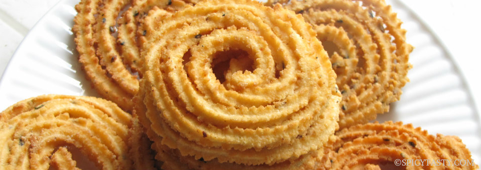 Indian Diwali Snack Murukku (Chakali) Recipe