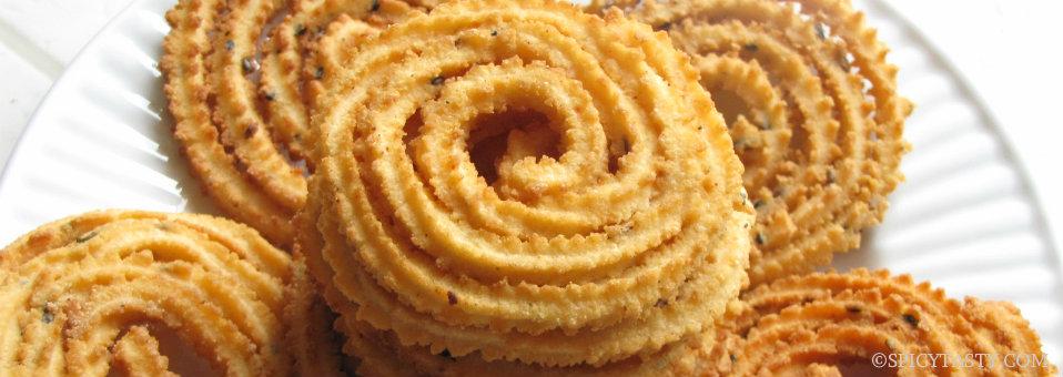 Indian Diwali Snack Murukku (Chakali) Recipe
