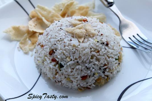 Coconut Rice Recipe | Spicy Tasty