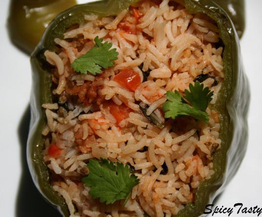 rice stuffed capsicum