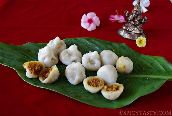 Puran Kozhukattai (Rice Dumplings)