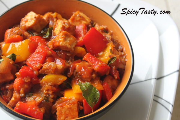 Chilli paneer recipe spicy tasty recently forumfinder Choice Image