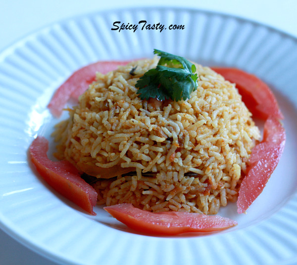 Tomato Rice (Version 2)