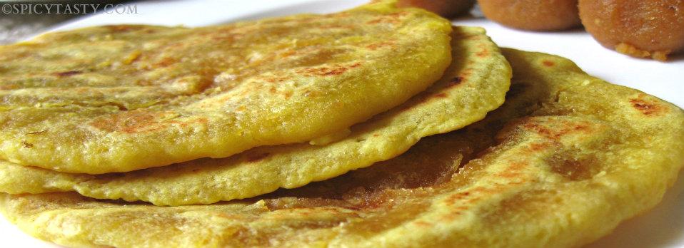 Dal poli – Sweet Lentil Pancakes