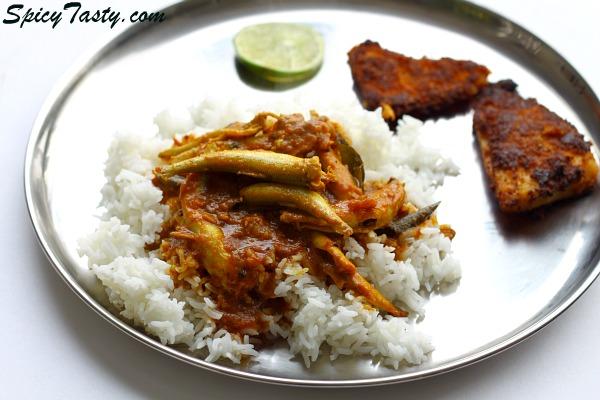 Nethili Fish (Anchovies) Kuzhambhu