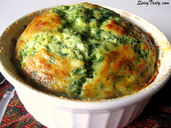 how to make spinach and artichoke souffle? | spicy tasty