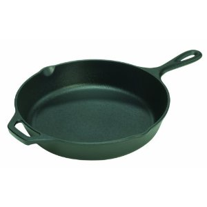 Lodge Logic L10SK3 12-Inch Pre-Seasoned Cast-Iron Skillet