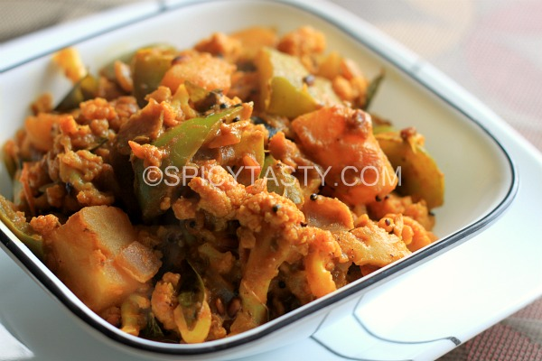 Gobi Shimla Mirch Ki Sabzi – Cauliflower Capsicum Curry