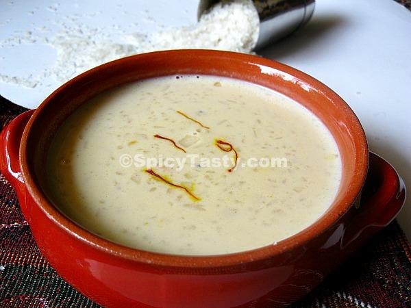 Palada Pradhaman – Rice Flakes Kheer
