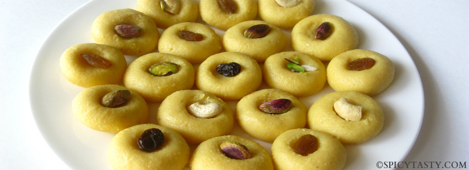 Paal Peda – Milk Fudge (version 2)